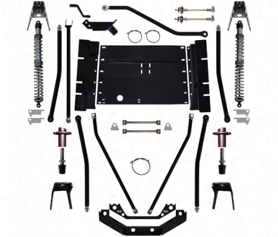 Rock Krawler 5.5� X-factor Plus Comp Stretch Suspension System By Rock Krawler Tj995504