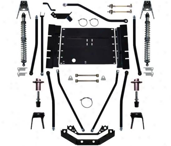 Rock Krawler 5.5␝ X-factor Plus Comp Stretch Suspension System By Rock Krawler Tj995504