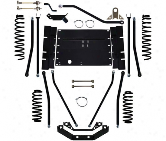 Rock Krawler 6␝ Triple Menace Long Arm Suspension System By Rock Krawler Lj60001