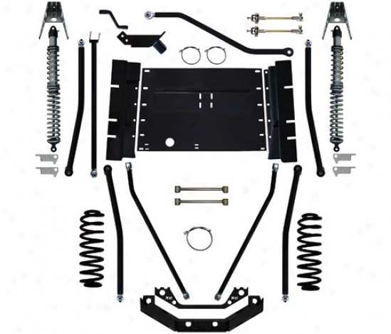 Rock Krawler 6� X-factor Plus Comp Long Arm Suspension System By Rock Krawler Lj60002