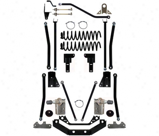 Rock Krawler 6.5␝ Triple Threat Long Arm Suspension System By Rock Krawler Xj650001