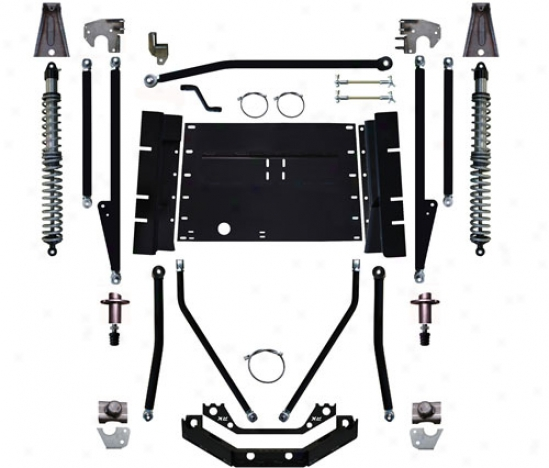 Rock Krawler 8� Triple Threat Long Prepare Suspension System By Rock Krawler Yj93002