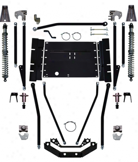 Rock Krawler 8␝ Triple Threat Stretch Long Arm Suspension System In the name of Rock Krawler Yj93003