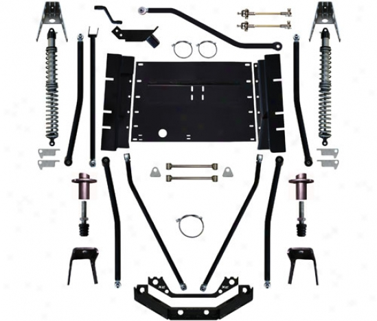 """Rock Krawler X Factor Plus Comp 7"""" Coil Over Stretchh Suspension System By Rock Krawler Tj99004"""