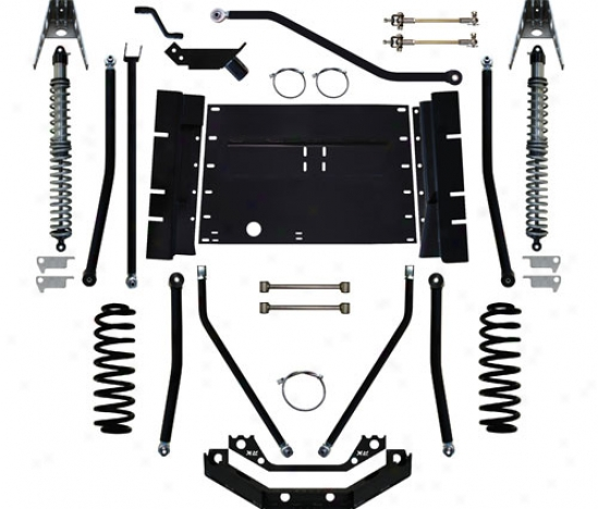 "Rocm Krawler X Factor Plus Comp 7"" Coil Excessively Suspension System Along Lull Krawler Tj99001"