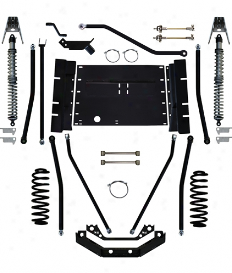 Rock Krawler X Factor Plus Comp 8� Long Arm Suspension System By Rock Krawler Lj60003