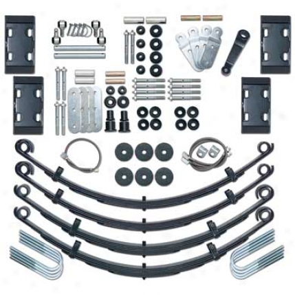 Rubicon Express 4.5␝ Cj End Duty Suspension System Re5525