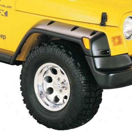 Rubicon Pocket Style Fender Flares By Bushwacker