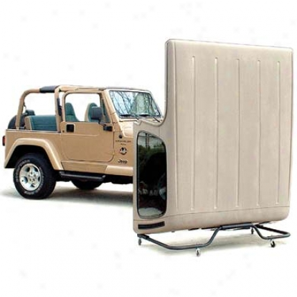 Saratoga Jeep Hardtop Storage Cart By Saratoga 09d0016
