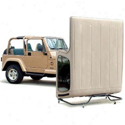 Saratoga Jeep Hardtop Storage Cart By Saratoga 09d0016