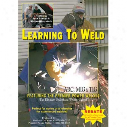 Sidekick Off Road Rick Russell Off-highway Instructional Series Learning To Weld Dvd-053