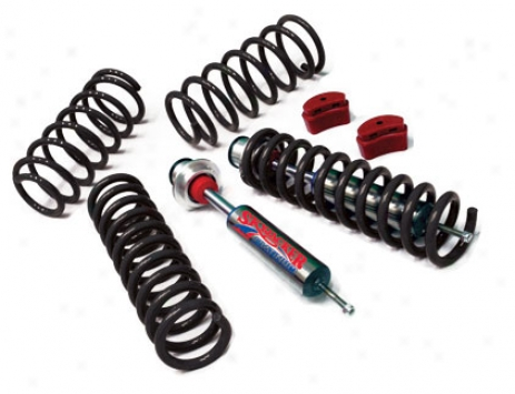 Skyjacker 2.5inch  Platinum Series, Linear Coil Suspension System Witg Shocks