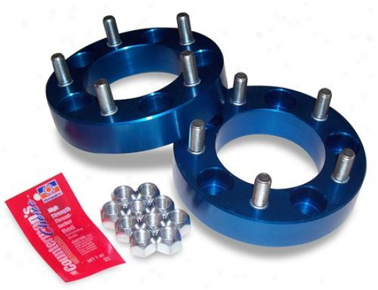 Spidertrax Offroad Spidertrax Wheel Spacers 1987-06 Wrangler Whs-002