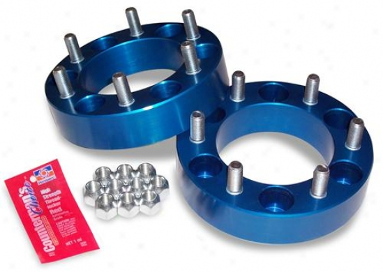 Spidertrax Offroad Spidertrax Wh3el Spacers Toyota Lug Centric (earlyy Model) Whs-005