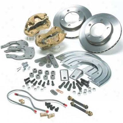 Ssbc M44 Rear Disc Thicket Conversion Kit, Cj, 1970-75