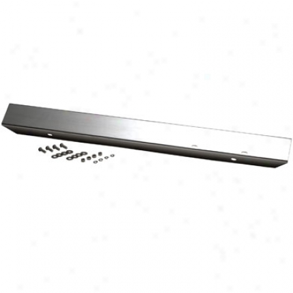 "Stainless Steel 42"" Front Bumper Without Holes In proportion to Kentrol 30471"