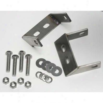 Stainless Steel Rear Bumper Brackets By Kentrol 30527