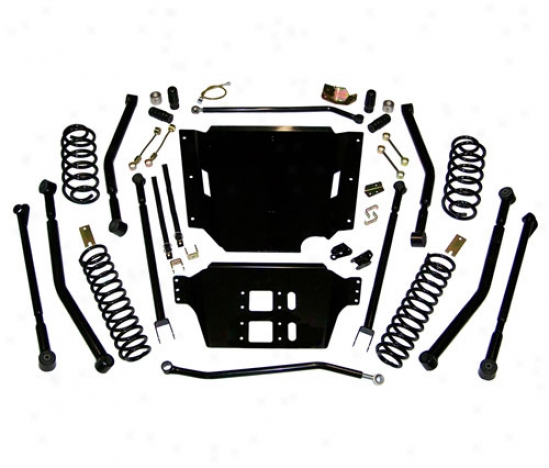 Supelift 4 Inch Long Arm Suspension System Witu Shocks By Superlift