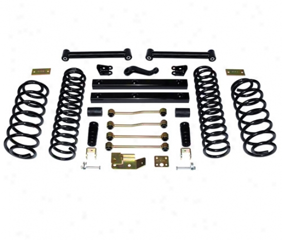 Supelift 4 Inch Suspension Suspension System With Shocks By Skyjacker