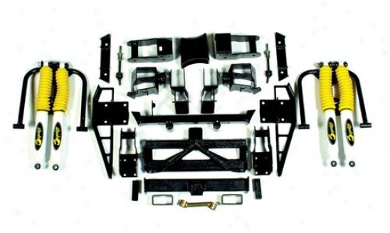 Supelift 6 - 7.5 In. Suspension System With Superide Shocks