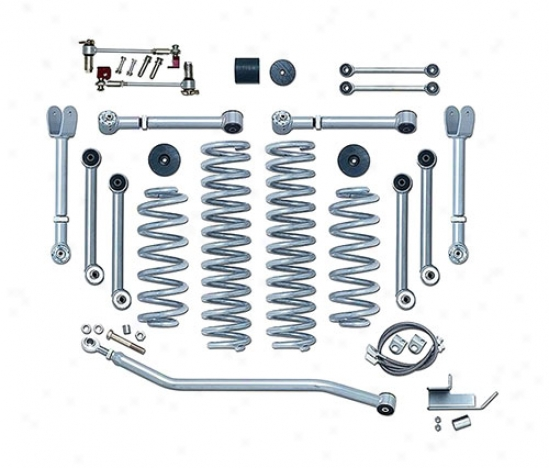 Super Flex 4.5 Suspension System Near to Rubicon Express
