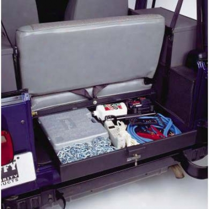 Tuffy Security Products Under Seat Security Drawer By Tuffy® 0213