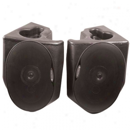 Vertically Driven Products Sound Wedges Speaker System By Vertically Driven 53317