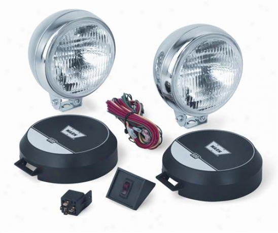 Warn 4x Flood Light Kit