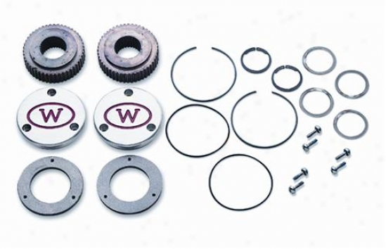 Warn Flange Mount Hub Lock Set