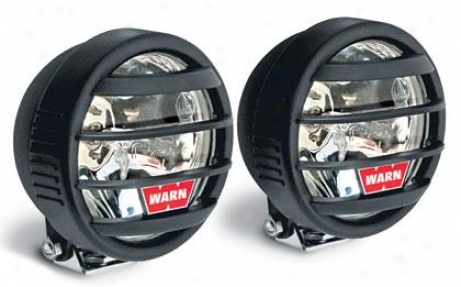 Warn W350f Halogen Fog Shine Light Kit
