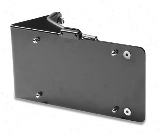 Warrior Products License Plate Bracket With Led Light By Soldier 1563
