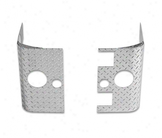Warrior Products Rear Corners Without Cutouts For Led Lights By Warrior 924a