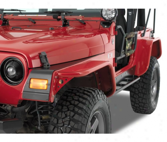 Warrior Products Rear Tube Flares With Steel Tops By Warrior S73122