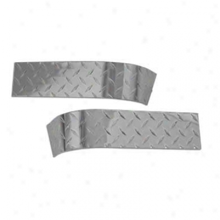 Warrior Products Warrior Products Aluminum Diamond Plate Short Corners 816