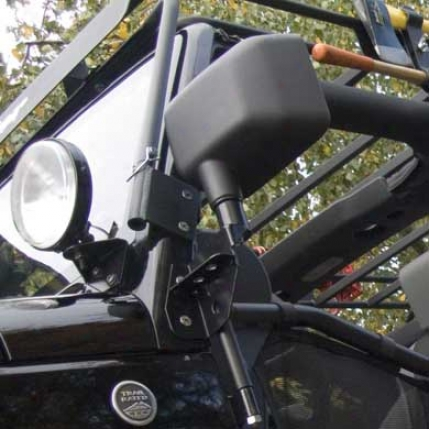 Soldier Products Windshield Hinge Light Brackets By Warrior Products  1517