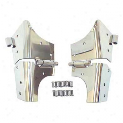 Windshield Hinge Set By Smittybilt