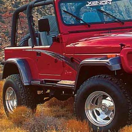 Xenon Xenon Sport Flares, Yj, 1987-95 8200